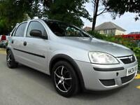 VAUXHALL CORSA 1.2i 16v 2004 COMPLETE WITH M.O.T HPI CLEAR INC WARRANTY