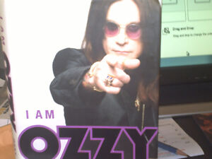 I AM OZZY - HARDCOVER BIOGRAPHY