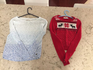 Abercrombie girls tops and sweaters-all 12 for $40