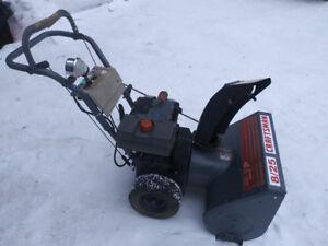 "Craftsman snowblower 8 h.p. 25""cut $275 obo ph.902 565-7430"