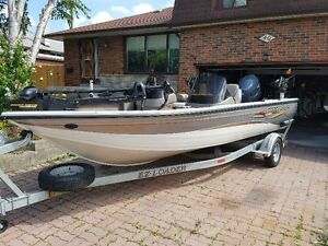 2006 Crestliner 1850 fish hawk DC