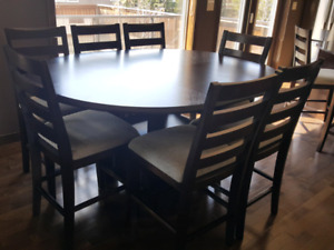 Kitchen Dining Table With Ten Chairs