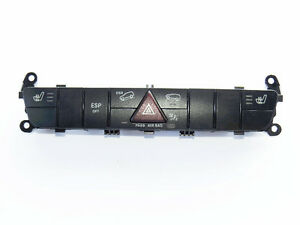 Mercedes ML350 04-11 Switch Control Central Console 1648703510