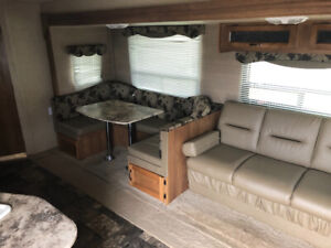 2015 coachman Catalina large slide with bunks