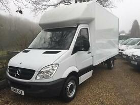 MERCEDES BENZ SPRINTER 313CDI LWB GRP LUTON WITH TAIL LIFT 13 REG