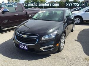2016 Chevrolet Cruze Limited LIMITED  - Certified - $104.21 B/W