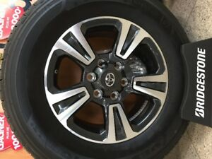 TOYOTA TACOMA OEM MAGS 265/65R17