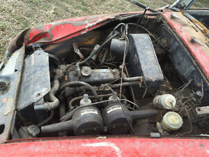 1972 / 73 MG Midget complete original parts car Windsor Region Ontario image 6