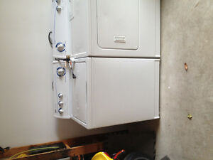 Washer / dryer package
