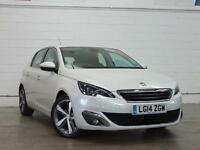 2014 PEUGEOT 308 1.6 HDi 115 Allure Sat Nav Bluetooth Zero Tax 1 Owner