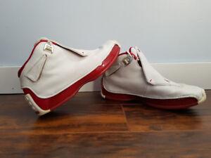Air Jordan 18 White/Varsity Red (Size 6)