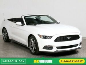 2017 Ford Mustang CONVERTIBLE V6 AUTO A/C GR ELECT CAMERA RECUL