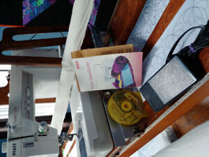 Quilting machine and frame
