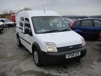 2008 Ford Transit Connect 1.8 TDCi T230 Crew Van. Only 83,000 miles.1 owner FSH.
