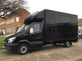 2015 MERCEDES-BENZ SPRINTER 2.1 316CDI LWB LUTON BOX 163BHP TAIL-LIFT. 1 OWNER.