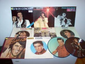 Disques vinyles Elvis + Vinyl records SCELLÉ-SEALED-OUV-OPEN