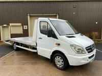 (60) 2011 Mercedes Benz Sprinter LWB Recovery Truck Automatic 3.5t No VAT White