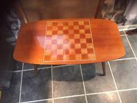 High gloss retro coffee table
