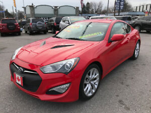 2013 Hyundai Genesis Coupe 2.0T...LOW KILOMETERS...MINT COND.
