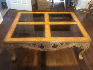 Large unique coffee table