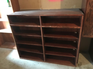 Excellent Wooden Display Case! Cheap Price!