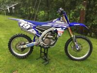 Yamaha YZF250 Motocross Bike 2014