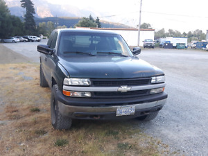 2001 chevy silverado 4x4 manual