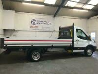 2018 68 FORD TRANSIT 2.0 TDCI L5 129 BHP TWIN WHEEL ALLOY ONE STOP DROPSIDE