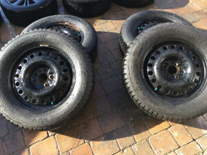 Nokian Nordman SUV with steel wheels (hiver winter)