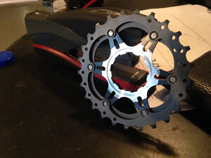 modified 11 speed cassette for 10 speed hub