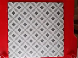 New unused bathroom tiles x 12