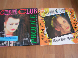 "Records.""Culture Club""(Boy George) Picture Disc Package + 12"" LP"