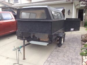 Utility trailer for moving/hauling/camping