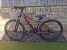 Woman's cube mountain bike