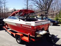 1987 Imperial Bowrider with 1995 4 CYL 3L LX Mercruiser