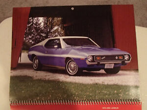 New 2002 GEAT AMERICAN CARS 12 Month CALENDAR. Issued by AKZO NO Sarnia Sarnia Area image 4
