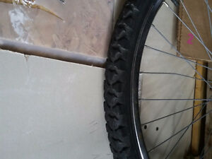 26 inches bike front wheel with rim London Ontario image 2