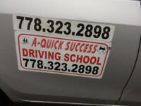 JOIN QUALITATIVE DRIVING LESSONS-PASS ROAD TEST-CAR AVAILABLE RT