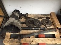 BMW E36 323i Manual Getrag Gearbox Conversion, DMF & Clutch, Prop Shaft - 318is kit also available