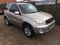 Toyota Rav 4 xt3 2.0. 04 Reg low mileage excellent condition for year