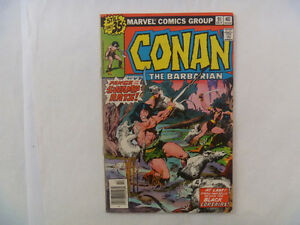 CONAN The Barbarian Comics by Marvel