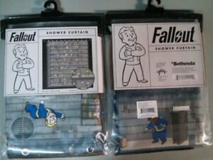 Fallout Shower Curtain 100 Polyester 70 X 30