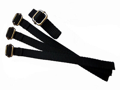 Replacement Webbing straps for use with GreenGuard Muzzle (Not by GreenGuard) x4