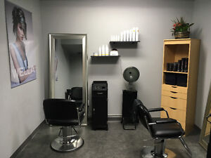 Mini Furnished Hair Salon for Rent
