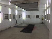 RENT Entire business. Car Body Shop and fully equipped garage, city centre.