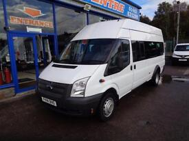 2014 FORD TRANSIT 135 T430 HIGH ROOF MINI BUS 17 SEATER - 1 OWNER - FSH - UNDER