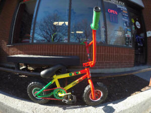Rocker Mini BMX @ Harvester Bikes FREE PEGS!