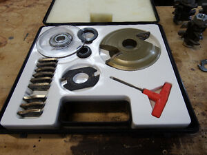 "Freud Raised Panel Cutter Set- 5 profiles- 1-1/4"" Bore"