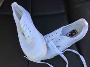 NEW White Vans Sneakers