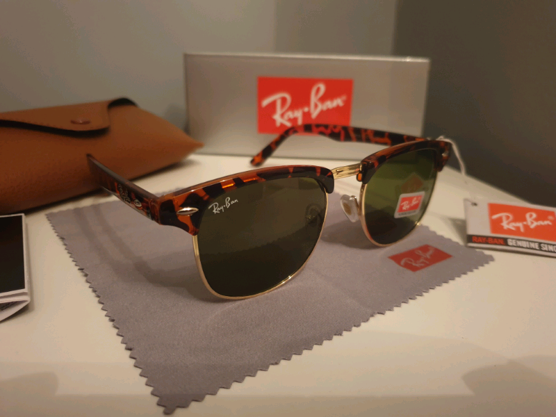 be4a50177fd5 Ray ban tortoise clubmasters | in Ripley, Derbyshire | Gumtree